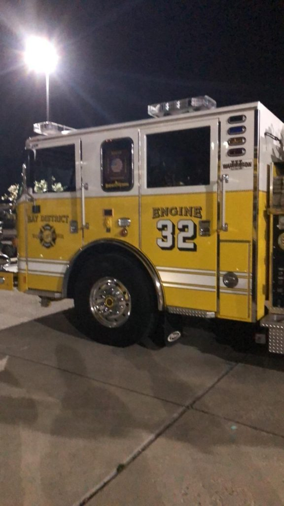 Transfer to the Bay District VFD